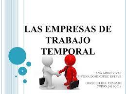 Se desarrolla el Reglamento de las empresas de trabajo temporal
